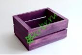 Ящик для цветов и подарков Dallas, сливовый