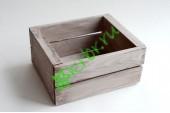 Ящик для цветов и подарков Dallas, миланский орех