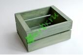 Ящик для цветов и подарков Dallas, пыльный оливковый