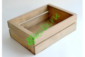 Деревянный ящик для подарков Техас, королевский дуб