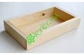 Ящик декоративный универсальный 15х25х4,5 см, натуральный