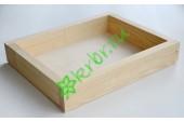 Ящик декоративный универсальный 20х25х4,5 см, натуральный