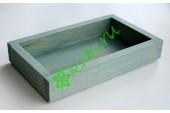 Ящик декоративный универсальный 15х25х4,5 см, утиное яйцо