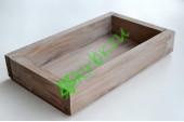 Ящик декоративный универсальный 15х25х4,5 см, миланский орех