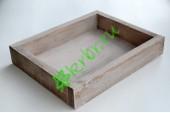 Ящик декоративный универсальный 20х25х4,5 см, миланский орех