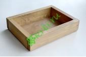 Ящик декоративный универсальный 15х20х4,5 см, королевский дуб