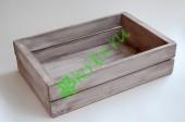 Ящик деревянный для подарков Grand, миланский орех