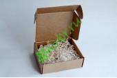 Подарочная коробка крафт малая 13х10х4 см, шт