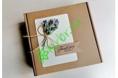 Подарочная коробка 18х18х6 см Лаванда, шт