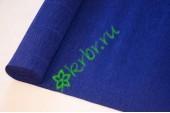 Гофрированная бумага 555, синий