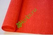 Гофрированная бумага 580, красный