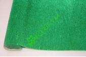 Гофрированная бумага металл 804, зеленый