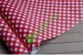 Бумага упаковочная Красная клетка, лист