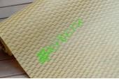 Фетр ламинированный 3D Волны капучино, м