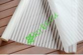 Пленка матовая белые полосы, рулон
