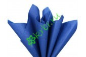 Бумага тишью Синий, лист 50х66 см