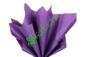 Бумага тишью Фиолетовый, лист 50х66 см