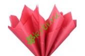 Бумага тишью Красный, лист 50х66 см