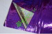 Бумага голография, фиолетовый