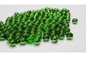 Бусины зеленый металлик 10 мм