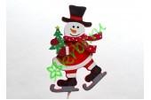 Вставка Снеговик на коньках, шт