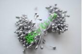 Тычинки двусторонние 3 мм, серебро