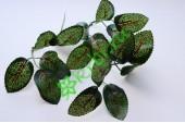 Листья розы темно-зеленые 3х5 см, 3 пары