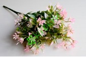 Ветка зелени Spring, розовая