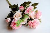Букет английской розы нежно-розовый, шт