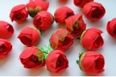 Бутон розы Вивьен коралово-красный, шт.