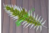 Лист папоротника Грин зеленый с белым, шт