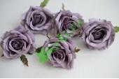Бутон Розы Шанти пурпурный, шт.