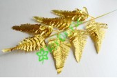 Папоротник новогодний золото, шт
