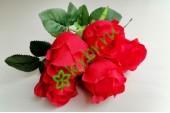Букет роз Женева красный, шт