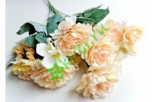 Роза-пион Валерия в букете ваниль, шт