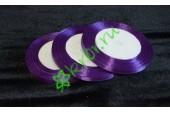 Лента атласная (3118) фиолетовая 6 мм, метр