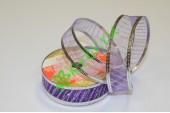 Лента армированная Волна фиолетовая, 1 м
