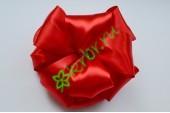 Бант-шар атласный, красный