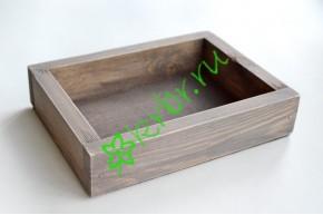 Ящик декоративный универсальный 15х20х4,5 см, миланский орех