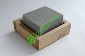 Ящик декоративный универсальный 15х15х4,5 см, королевский дуб
