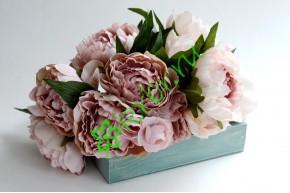 Ящик декоративный универсальный 15х20х4,5 см, пыльная роза