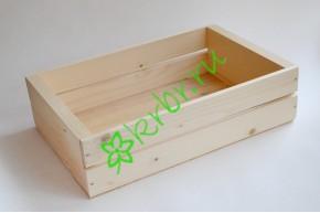 Ящик деревянный для подарков Grand, натуральный