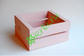Ящик для цветов и подарков Dallas, нежно-розовый