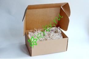 Подарочная коробка крафт 24х16,5х10 см, шт