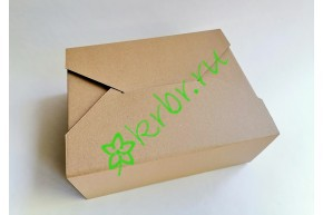 Подарочная коробка крафт Конверт 27х22х11 см, шт