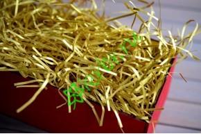 Бумажный наполнитель Metallic Золото