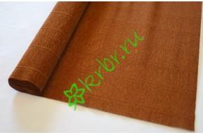 Гофрированная бумага 568, коричневый