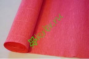 Гофрированная бумага 571, розово-романтичный
