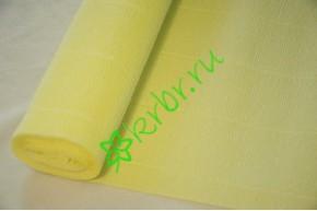 Гофрированная бумага 574, лимонный