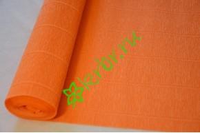 Гофрированная бумага 581, ярко-оранжевый
